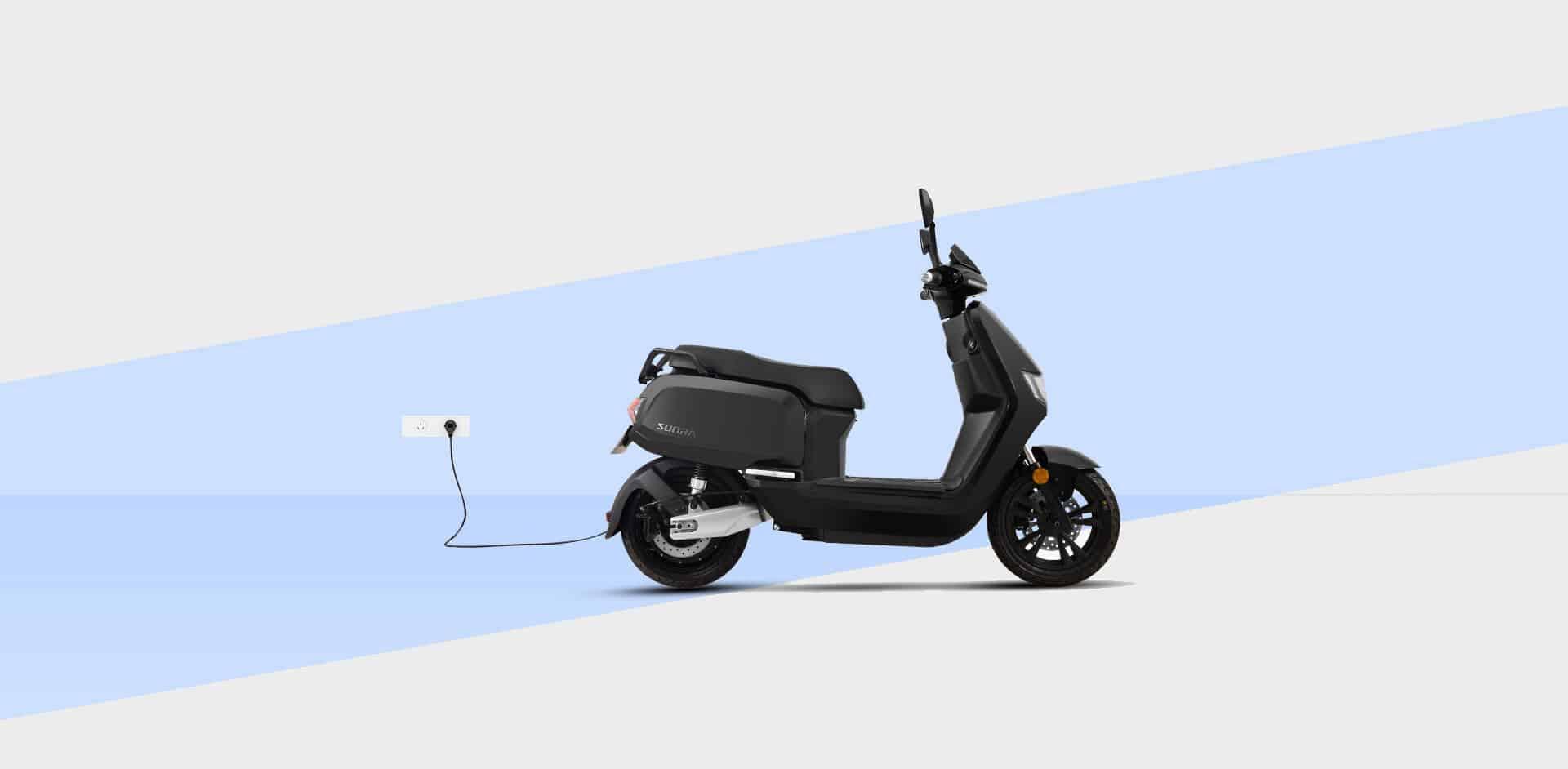 Scooter Sunra Robo en charge
